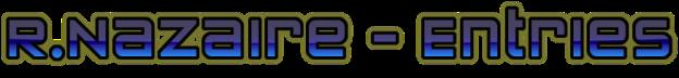RNazaire - Entries